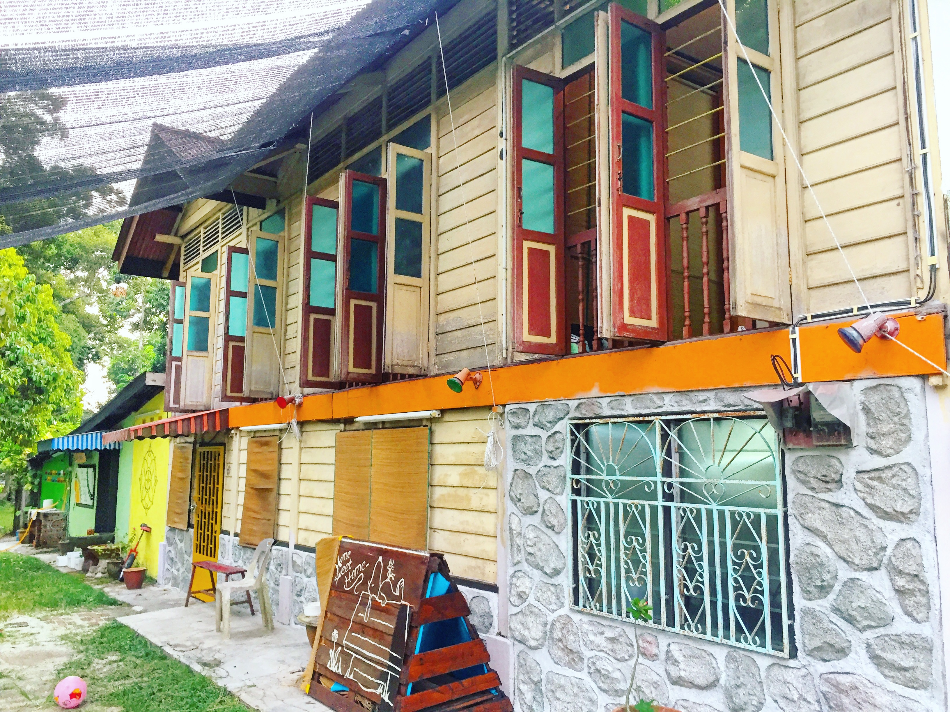馬來西亞老木屋– Titi Teras Village House